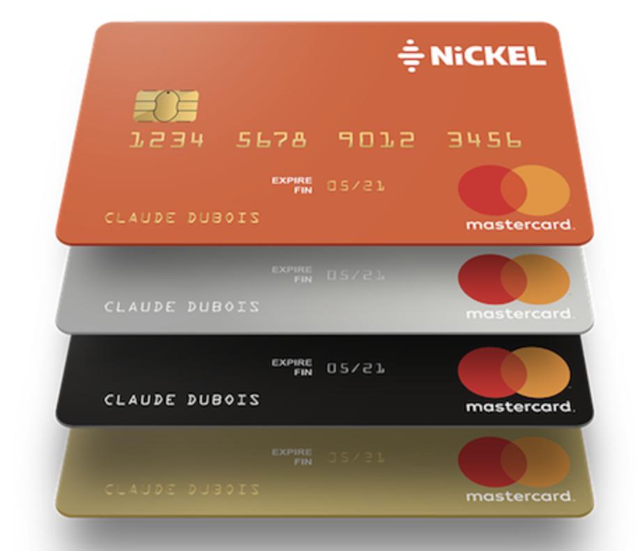 Compte Nickel carte