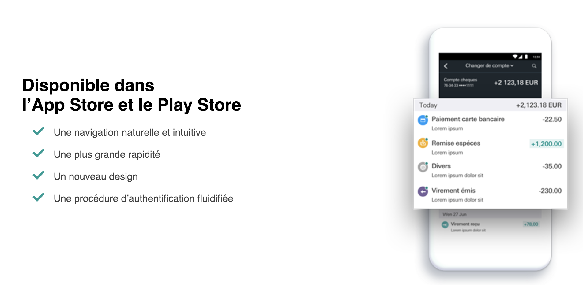 HSBC Application mobile