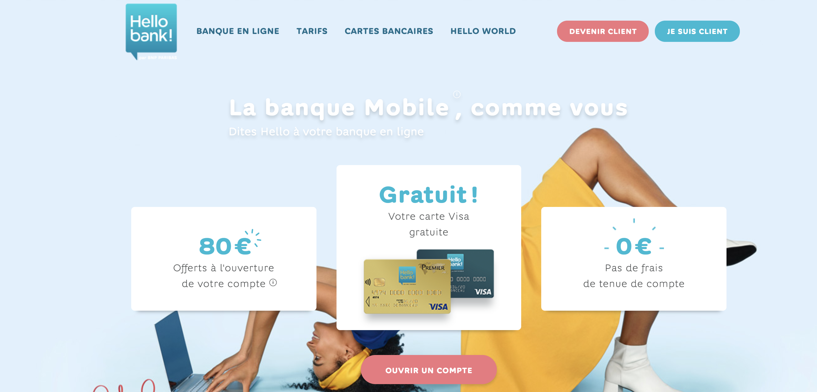 Hello Bank Banque mobile