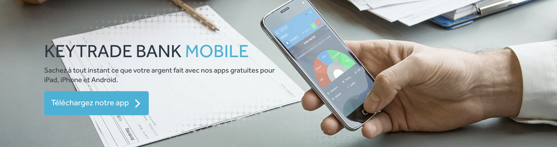 Keytrade mobile