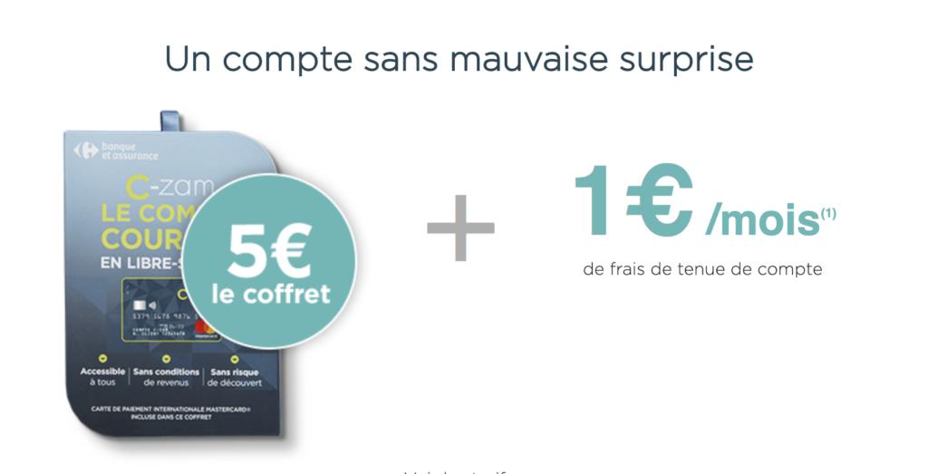 Carte Carrefour Virtuelle.C Zam Par Carrefour Banque Avis Conseils Pour Mieux