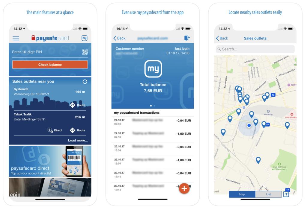 Paysafecard Mobile Payment